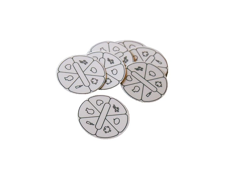 Magnets de Pioneiro (8 unidades)