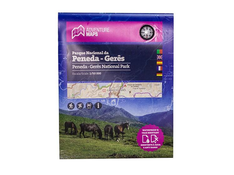 Mapa Parque Nacional da Peneda Gerês