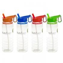 Garrafa de Água Plástico | 4 Cores