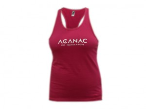 ACANAC 2017 - Camisola de Alças Rosa