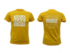 ACANAC 2017 - T - Shirt Amarela