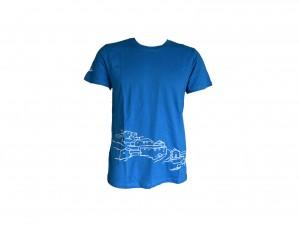 T shirt  Arquitetura Azul