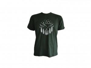 T Shirt  Aldeia Mágica Verde