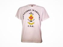 T-shirt de manobras Marítimos