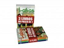 """Pack 3 livros coleção """"Lobos"""""""