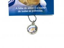 Pajela Com Medalha e Fio Madre Teresa Calcutá