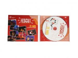 CD FESCUT - 20 Anos -  A Festa da Música Escutista